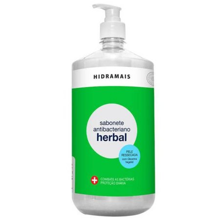 Sabonete Líquido Antibacteriano Herbal 1,2L Hidramais