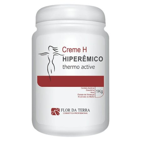 Creme H Hiperêmico Flor Da Terra Thermo Active 1KG