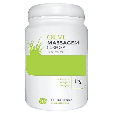 Creme De Massagem Corporal Flor Da Terra Bio Relax 1KG