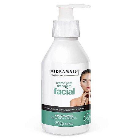 Creme Drenagem Facial Hidramais Com Colágeno E Vitamina E 250ml