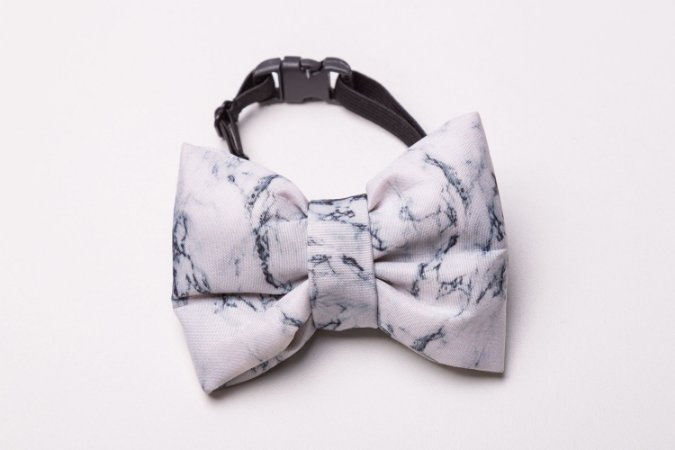 Laço/Gravata Marble Grey
