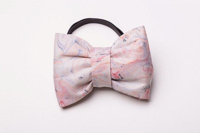 Laço/Gravata Marble Pink