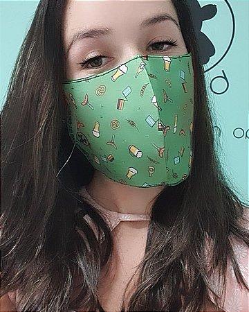 Máscara - COM FITA DE VIÉS