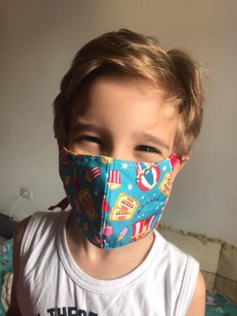Máscara Infantil - COM ELÁSTICO