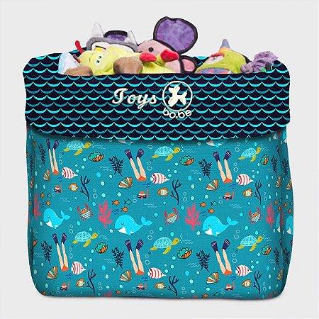 Caixa de Brinquedo Deep Sea