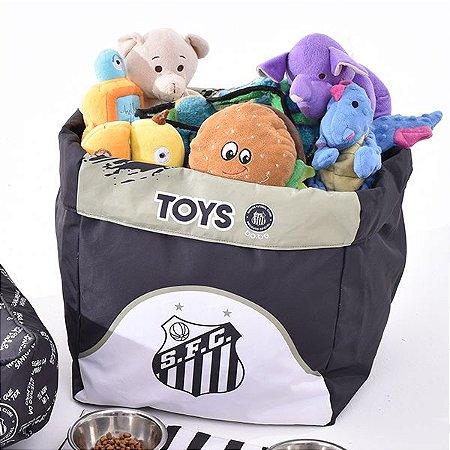 Caixa de Brinquedo Santos Escudo