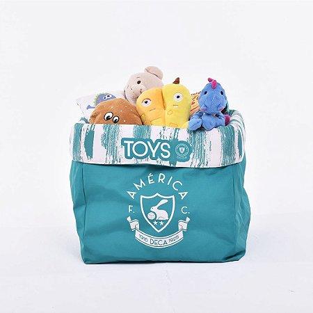 Caixa de Brinquedo América MG Retrô