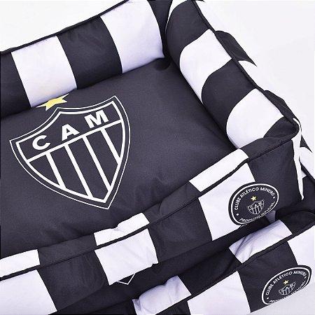 Cama Retangular Atlético MG - Escudo