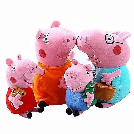 Família Peppa Pig Pelúcia Musical