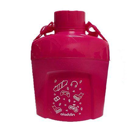 Cantil Térmico Infantil Rosa Pink 600ml Aladdin