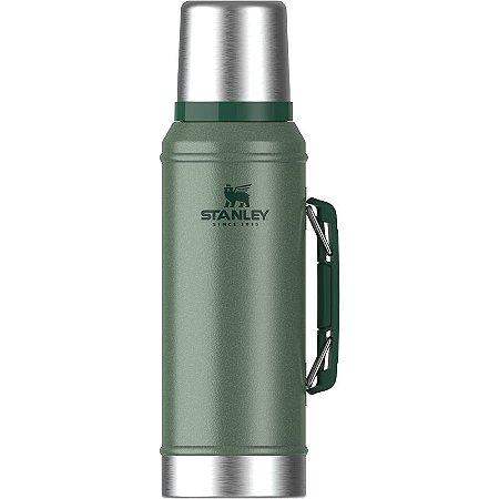 Garrafa Classic Verde 946ml c/Rolha Precisão Stanley
