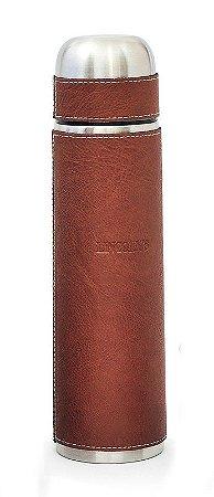 Garrafa Térmica 1l Courino Marrom Lincoln's