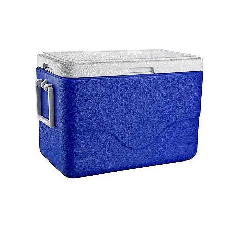 Caixa Térmica 28QT - 26,5L Azul Coleman