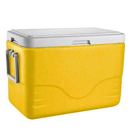 Caixa Térmica 28QT - 26,5L Amarelo Coleman