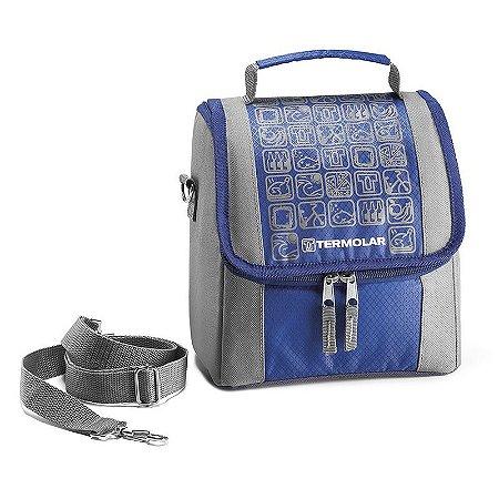 Bolsa Térmica Infantil Termobag Azul Termolar
