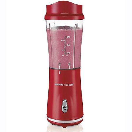 Mini Liquidificador Individual Hamilton Beach Vermelho