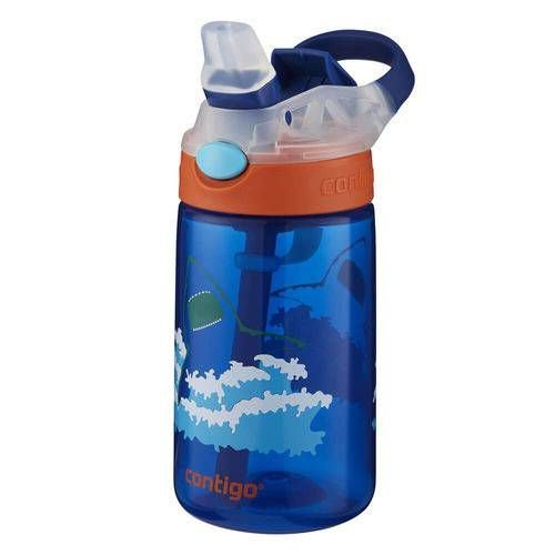Garrafa Squeeze Infantil Tubarão Contigo 414ml