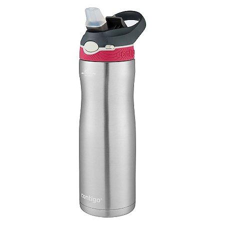 Squeeze Térmico Contigo Rosa Autospout Chill 591ml