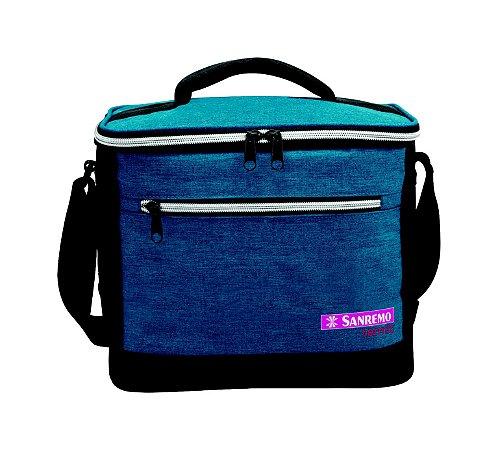 Bolsa Térmica 8L Azul Sanremo