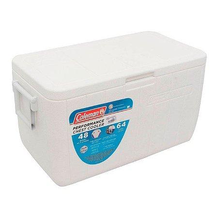 Caixa Térmica 48QT - 45,4 litros Branca Coleman