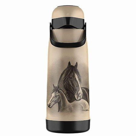 Garrafa Térmica Magic Pump 1,8L Cavalos Termolar