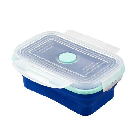 Pote Retrátil Lunchbox Yuze Azul