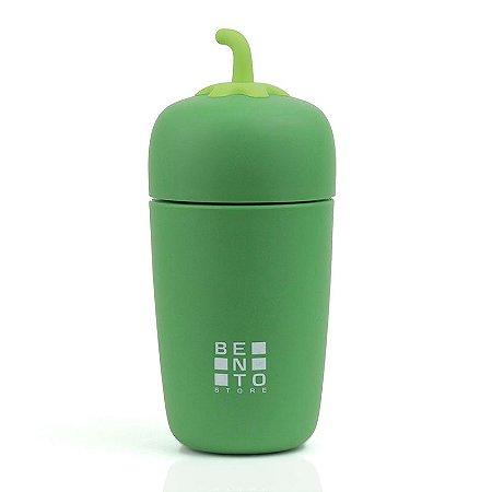 Copo Térmico Infantil Bento Veggie Verde 235ml