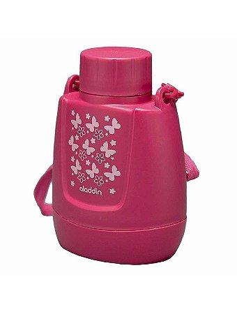 Cantil Térmico Infantil Rosa 300g Aladdin