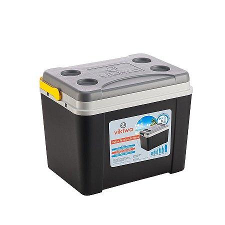 Caixa Térmica 34 litros Preta - Viktwa