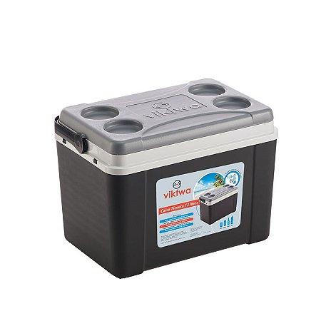 Caixa Térmica 12 litros Preta - Viktwa