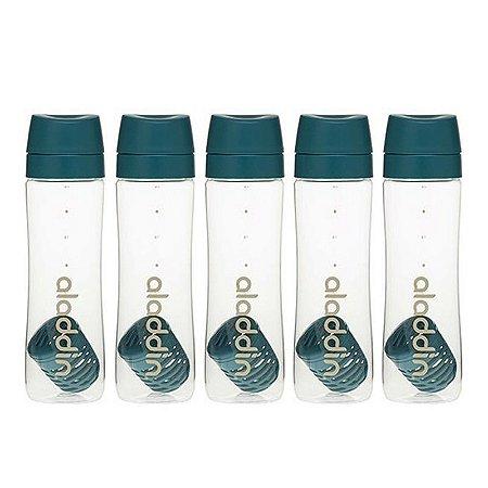 Kit Combo de Garrafa para Água Azul 710ml Aladdin