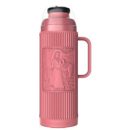 Garrafa Térmica Chimarrita Rosa 1 litro Termolar