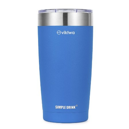 Copo Térmico Up Simple Drink 540ml Azul Viktwa