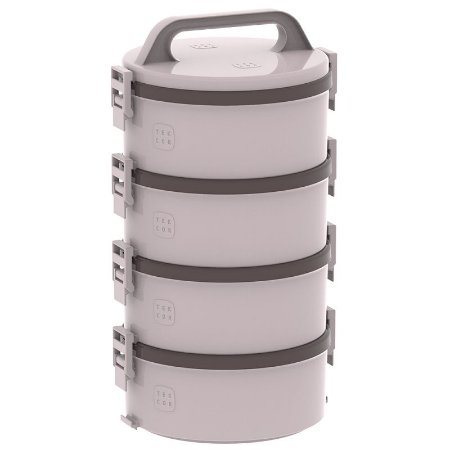 Marmita Tekcor 1,5 litros 2S 1D 1T Bege - Soprano