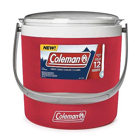 Cooler Térmico Circle  8,5 litros Vermelho Coleman