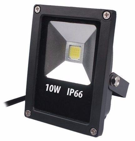 REFLETOR LED 10W BRANCO FRIO BIVOLT PROVA D'AGUA IP66