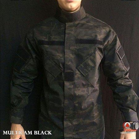 FARDAMENTO COMPLETO MULTICAM BLACK ACU