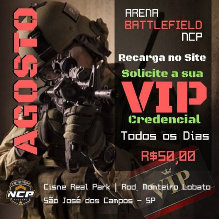 VIP CARD ARENA NCP AGOSTO