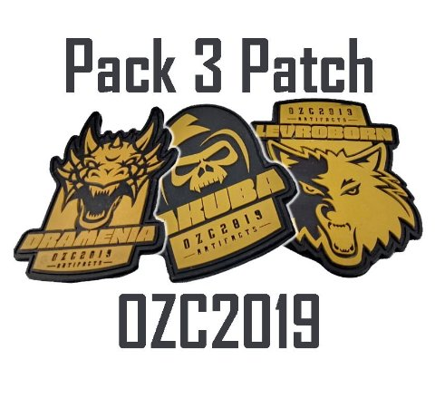 PACK GOLD PATCH OZC2019