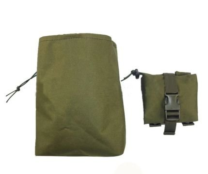 DROPMAG POUCH VERDE OLIVA COMPACTO