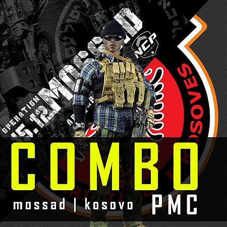 COMBO - KOSOVO+MOSSAD PMC - XADREZ