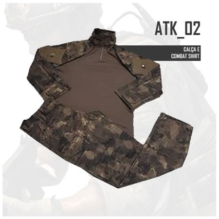 FARDAMENTO COMBAT SHIRT ATK02