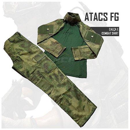 FARDAMENTO COMBAT SHIRT ATACS FG