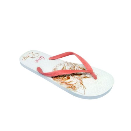 Chinelo Love Dogs - Rosa Grouper