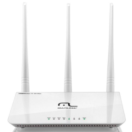 Roteador Wireless 300Mbps com 3 antenas - RE163 - Multilaser
