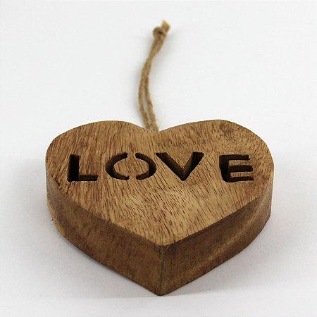 Coracao Decor Love 12 Cm