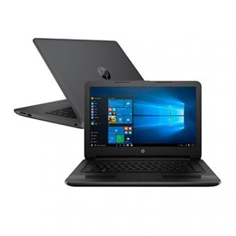 "Notebook HP Core i3-6006U 4GB 500GB Tela 14"" Windows 10 246 G6."