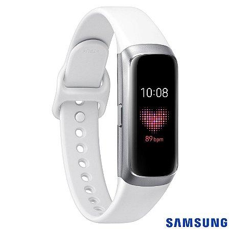 Galaxy Fit Samsung Prata com Puls. de Sil. e Bluetooth 5.0