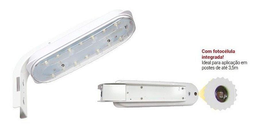 Luminária Smart LED 20W Bivolt com fotocélula embutida Kian