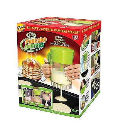 Maquina Panquecas Cupcake Elétrica Pilhas Pancake Express